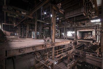 oude verlaten sinter fabriek van FOTOGRAAF van Hoof