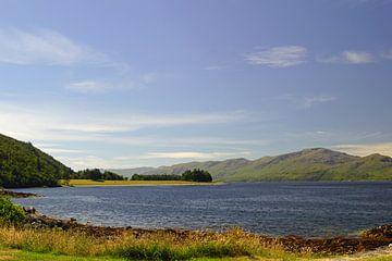 Schottische Landschaft bei Oban von Babetts Bildergalerie