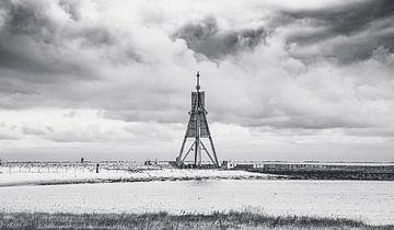 Kugelbake - Strand von Cuxhaven an der deutschen Nordseeküste von Jakob Baranowski - Off World Jack