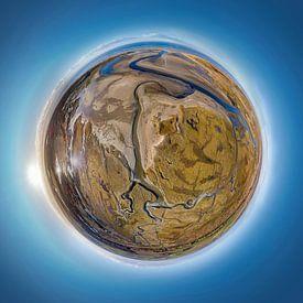 Tiny Planet Slufter Texel van Texel360Fotografie Richard Heerschap