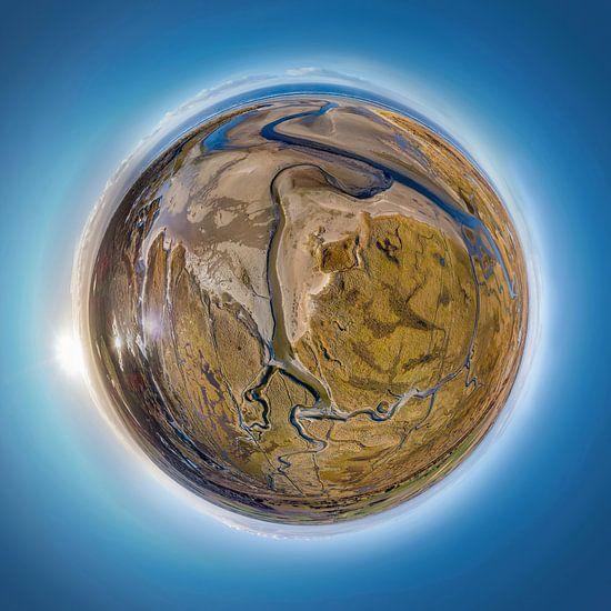 Tiny Planet Slufter Texel