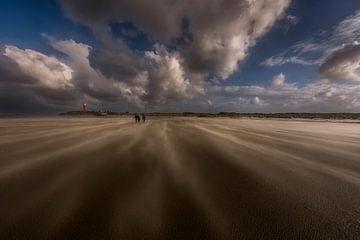 Zandstralen windkracht tien von John Jansen