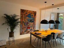 Klantfoto: Cucina Madonie van Gabi Hampe, als print op doek