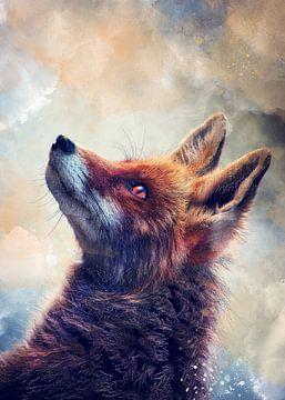 Fuchs Tiere Kunst #Fuchs von JBJart Justyna Jaszke