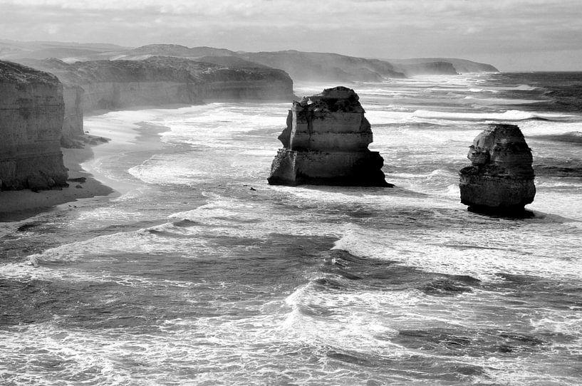 Kustlijn Australie van Maurice Ultee