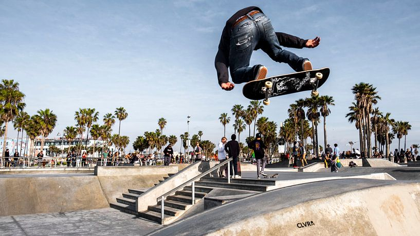 Venice beach skatepark van Jasper Verolme