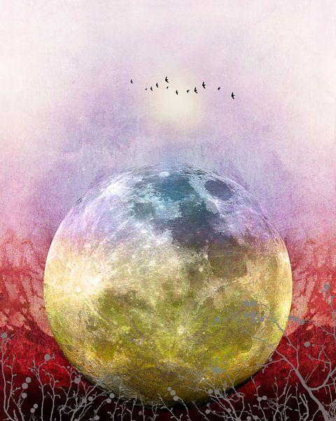 MOON under MAGIC SKY III von Pia Schneider