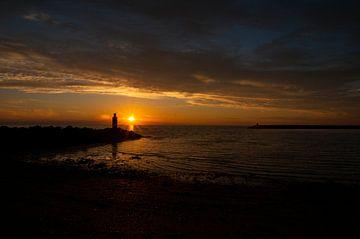 zonsondergang aan de Noordzee von Annelies Cranendonk
