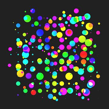 Kleurrijke lichtballen van Maik Berning