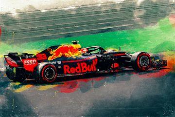 Red Bull Max Verstappen von Arjen Roos