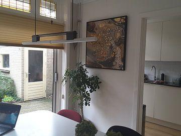 Kundenfoto: Der Doppelfrosch. von Ilse Smit