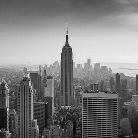New York Panorama IX van Jesse Kraal