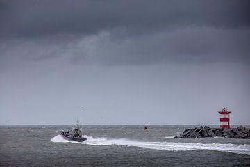 Reddingboot Scheveningen van Sander van der Borch