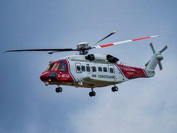 Sikorsky S-92A Helibus in der Küstenwache Zeitplan Großbritannien von Ed Steenhoek