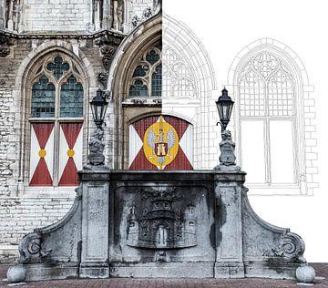 Het stadhuis van Middelburg van Wouter de Bruijn