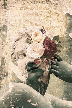 Eingefroren in der Zeit - Surrealer Collage-Druck von MDRN HOME