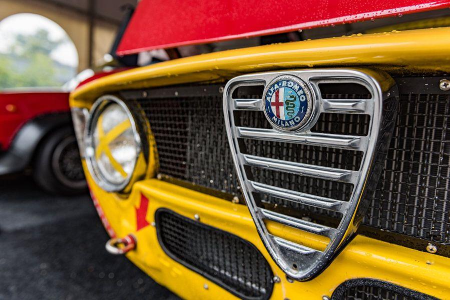 Alfa Romeo GT Junior grille van autofotografie nederland