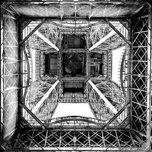 a square of Paris