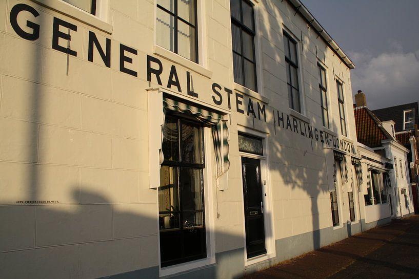 General Steam Harlingen - London van Jetty Boterhoek