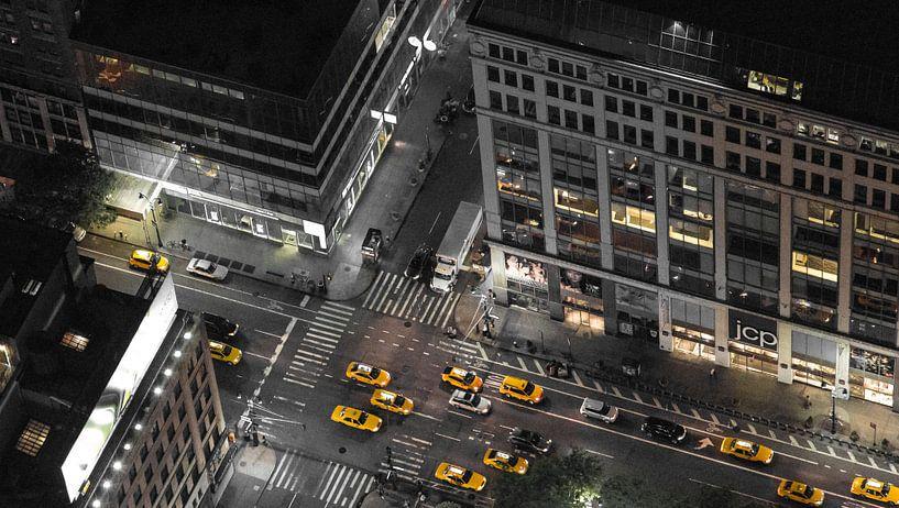 New York Taxi van Capture the Light