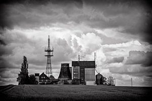 Oude, verlaten Boerderij in Duitsland