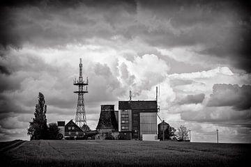 Alter, verlassener Bauernhof in Deutschland von Cristel Brouwer