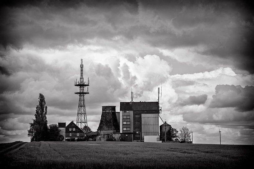 Oude, verlaten Boerderij in Duitsland van Cristel Brouwer