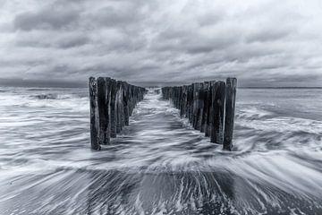 Bewegung auf dem Meer (2) von Henk Verstraaten
