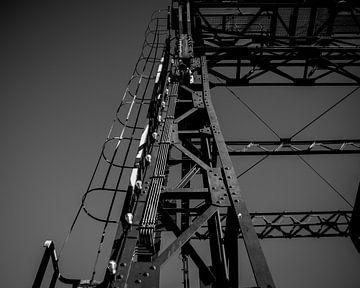 De constructie van een brug. von Dana de Boer