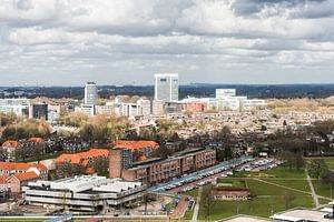 Uitzicht richting Provinciehuis, Utrecht.