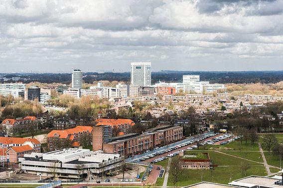 Uitzicht richting Provinciehuis, Utrecht. van De Utrechtse Internet Courant (DUIC)