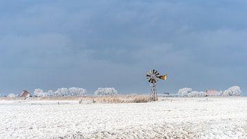 Oude windmolen sur Maarten Drupsteen