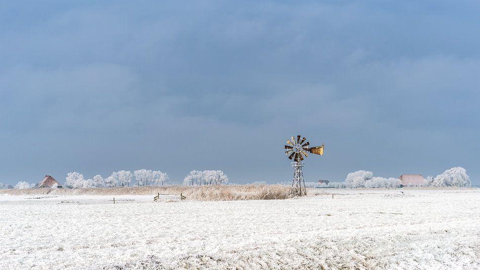 Oude windmolen van Maarten Drupsteen