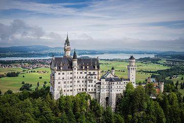 Schloss Neuschwanstein, Deutschland von Bob Slagter