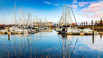 De jachthaven van Wemeldinge van Fotografie in Zeeland