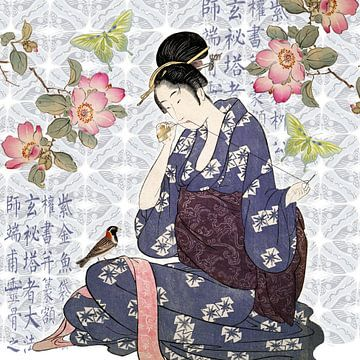 Het Japanse Meisje van christine b-b müller
