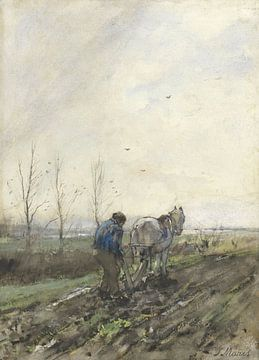 Fermier laboureur, Jacob Maris