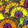 GRAFISCHE PRINT FLORA 1 van Marijke Mulder thumbnail