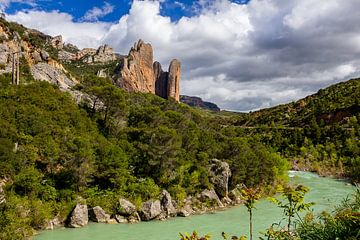 Mallos de Riglos, Spanien von Adelheid Smitt