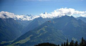 Panorama du Hohe Tauern sur Leopold Brix