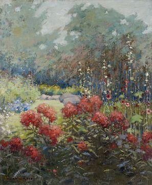 Mary Hiester Reid~Ein Garten im September