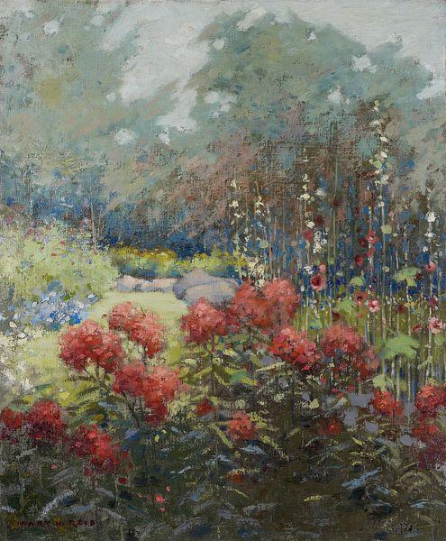 Mary Hiester Reid~Ein Garten im September von finemasterpiece
