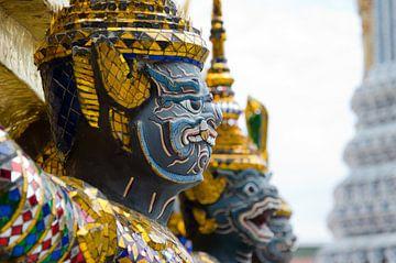 Beeld King's Grand Palace in Bangkok, Thailand van Maurice Verschuur