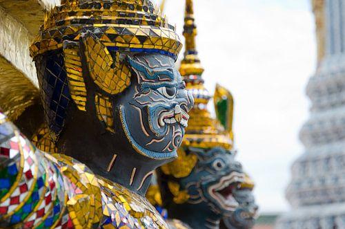 Beeld King's Grand Palace in Bangkok, Thailand van