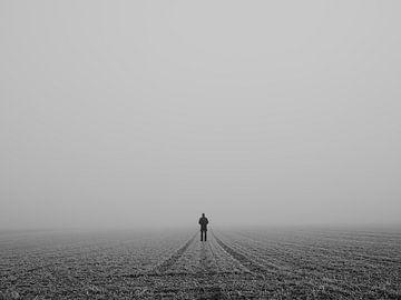 Foggy morning van Jakub Wencek