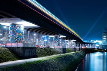 Metro Maashaven Rotterdam von Mehmet Buyukyilmaz