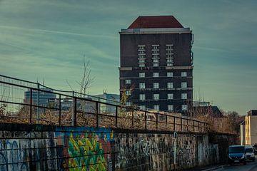 Dortmund Watertoren Zuid Station van Johnny Flash