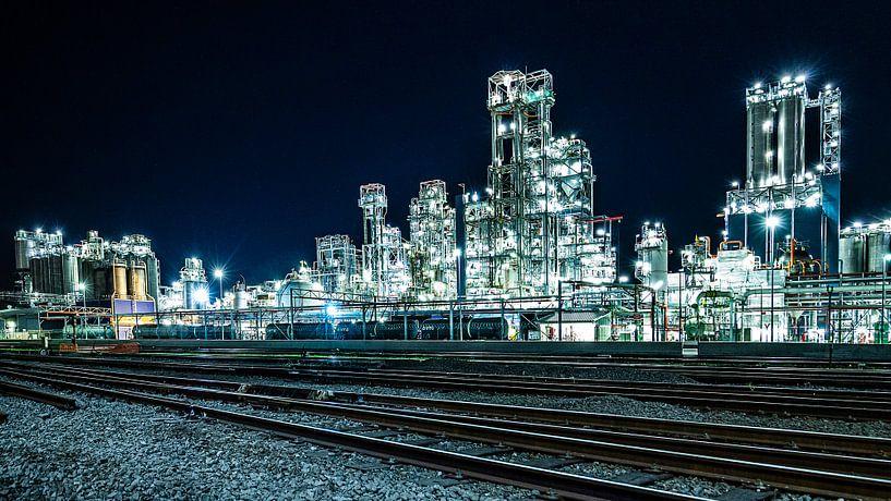 Petrochemie havens Antwerpen 2 van Wilma Wijnen
