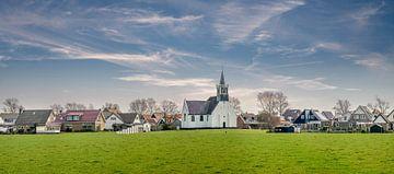 Oudeschild Zeemanskerk Texel von Texel360Fotografie Richard Heerschap