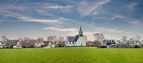Oudeschild Zeemanskerk Texel van